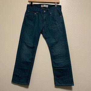 Levi's boys 514 slim straight leg denim jeans